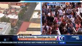 Fuerte sismo de 6.6 grados sacudió México