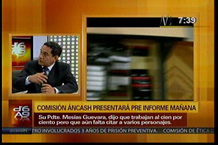 """Mesías Guevara: """"Parece que quien habló ayer no fue el presidente"""""""
