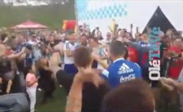 [VIDEO] Jugadores argentinos arman fiestón y se burlan de brasileros