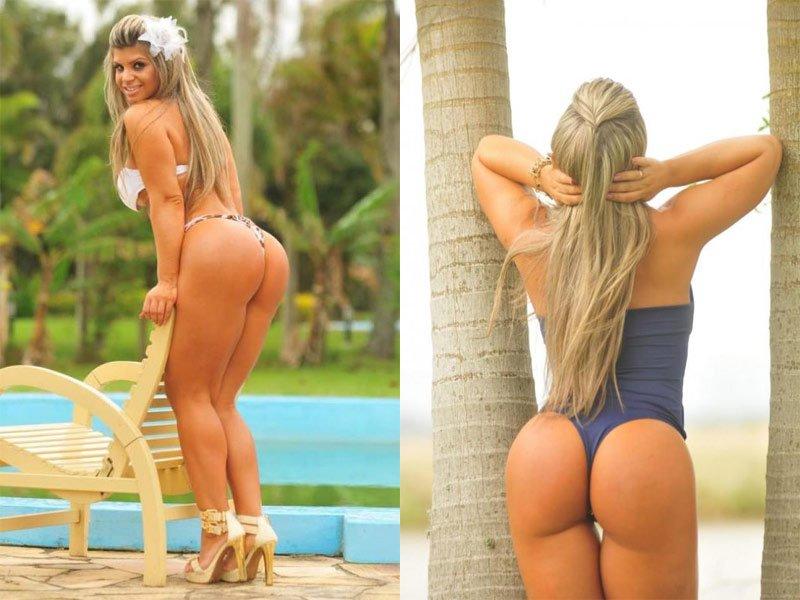 [Fotos Facebook e Instagram] Carine Felizardo, la ex Miss Bumbum en una sesión de fotos