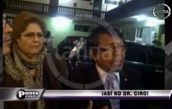 Video complica a Ciro Castillo padre, quien chocó su auto ebrio