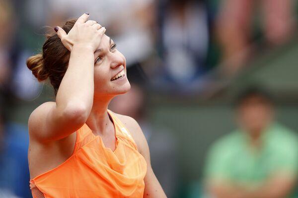Halep jugará su primera semifinal en un torneo de Grand Slam.
