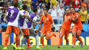 Holanda sufrió para avanzar a los cuartos de final del mundial.