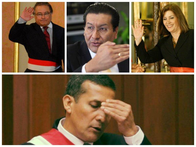Ollanta Humala cambia sorpresivamente a ministros del Interior, RR.EE y MTC