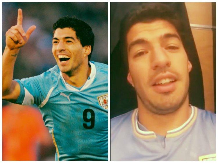 [VIDEOS] Sus goles y lo que dijo Suárez a uruguayos tras ganar a Inglaterra