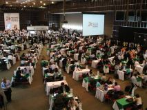Empresarios peruanos exhibieron sus productos en la Macrorrueda de la Alianza del Pacífico.