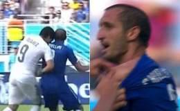 El uruguayo Luis Suárez fue sancionado ejemplarmente por la mordida propiciada a Giorgio Chiellini.