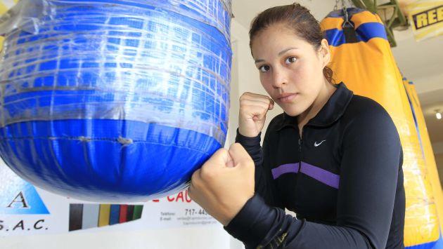 Foto peru 21 / Linda Lecca es fiel al box y rechaza oferta de EEG y Combate