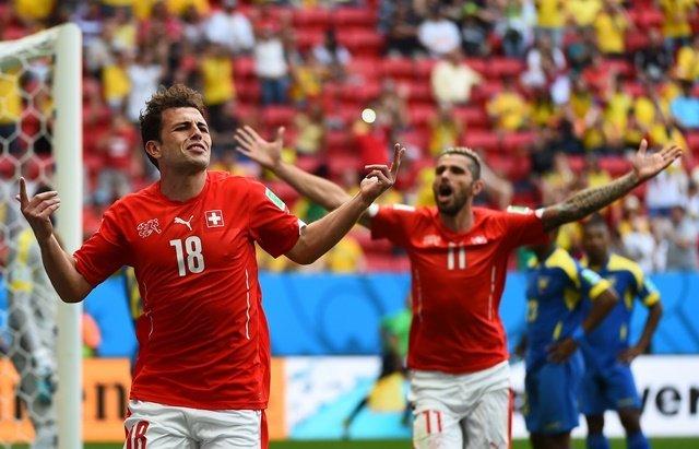 Suiza dejó con las manos vacías a Ecuador en el último segundo.