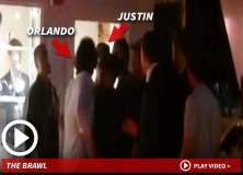 [VIDEO TMZ] Orlando Bloom golpea a Justin Bieber y le grita ¡que te pasa p..a!