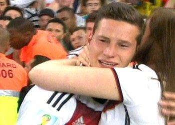 [FOTOS] Alemania campeón: Esposas y novias celebran con jugadores