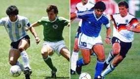 Argentina campeonó en México 86 y Alemania lo hizo en Italia 90. Hoy, argentinos y alemanes buscarán el título en Brasil 2014.