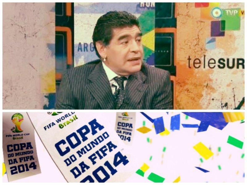 ¿Censurado? Diego Maradona sin credencial de prensa por decisión de la FIFA
