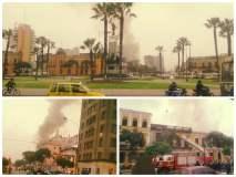 Incendio destruye una quinta en el Centro de Lima y moviliza a bomberos
