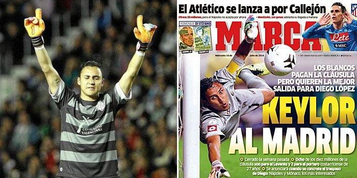 [VIDEO] Arquero Keylor Navas va al Real Madrid, aquí sus mejores atajadas