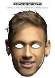 Miles de máscaras de Neymar en el estadio para choque contra Alemania