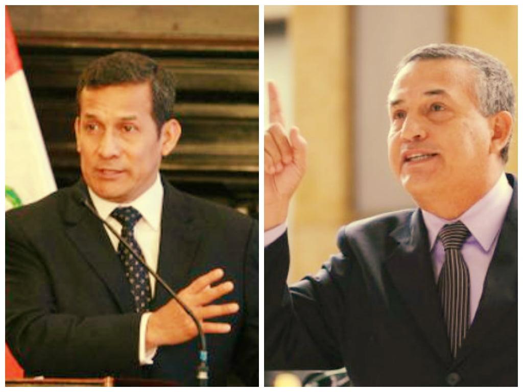 """Ollanta Humala respalda al ministro Urresti: """"No veo culpabilidad"""""""