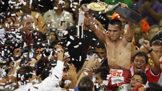 El peruano Alberto Rossel fue proclamado por la AMB como el campeón absoluto de la categoría minimosca.