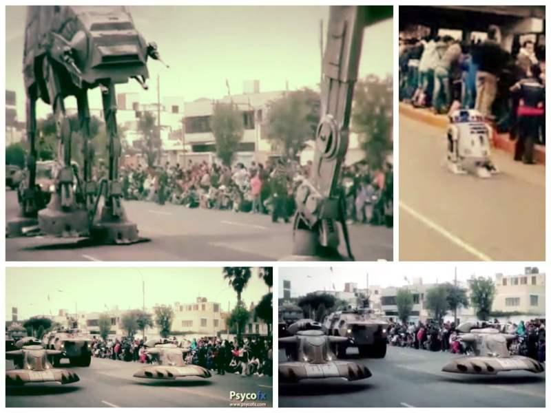 [VIDEO PsycoFx] La Parada Militar 2014 al estilo de Star Wars
