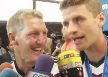 """[VIDEO] Müller insultó a periodista: """"La Bota de Oro te la puedes meter al c..."""""""