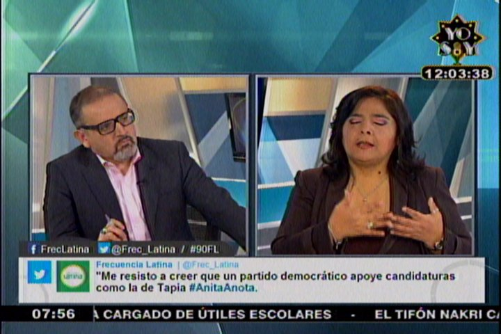 Ana Jara: 'Confío en alzarme con el voto de confianza del Congreso'