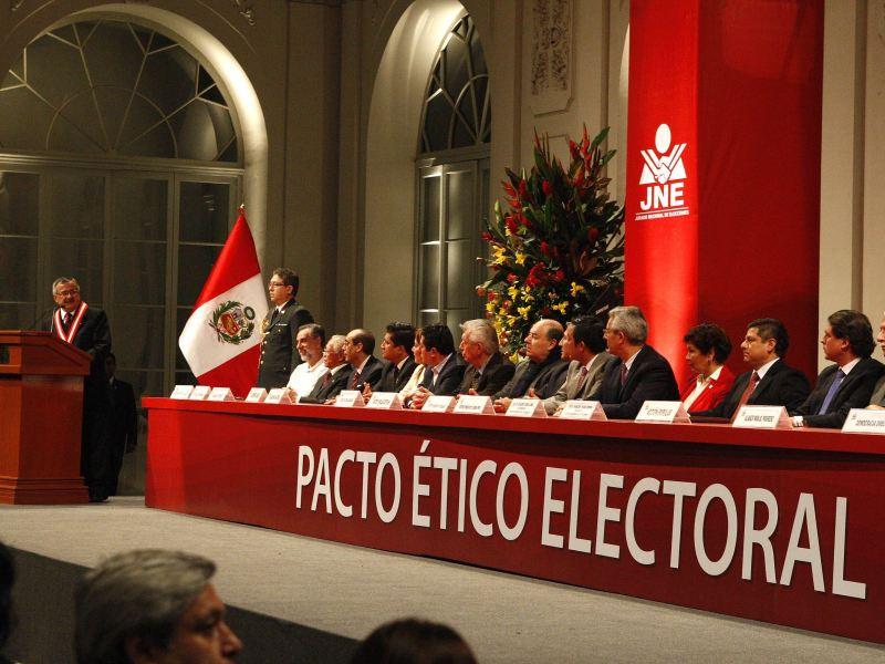 JNE propone el 28 de setiembre para Gran Debate Electoral
