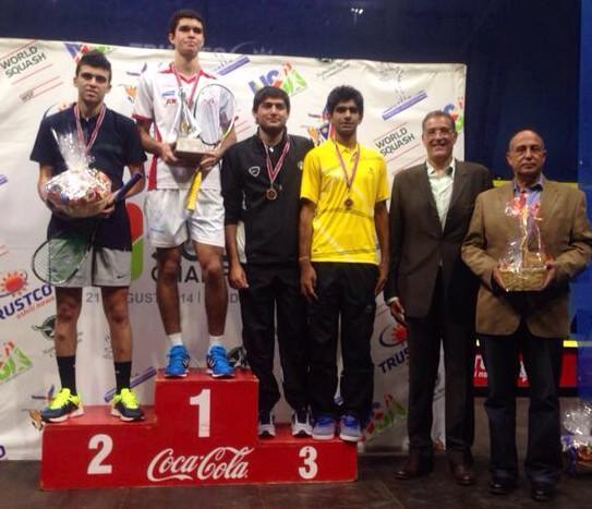 El peruano Diego Elías fue el mejor en el Campeonato Mundial Juvenil de Squash.