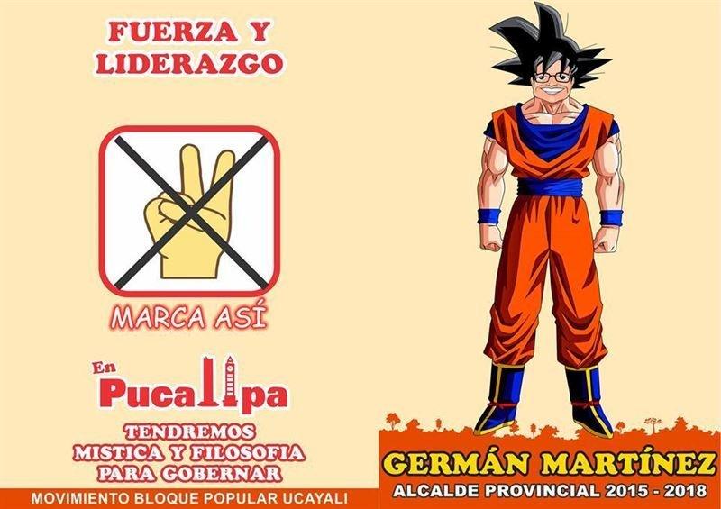 [FOTOS] Superman, Goku, Capitán América y Star Wars en elecciones peruanas