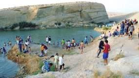 [VIDEO] Increíble: Aparece lago en pleno desierto de Túnez y temen maldición