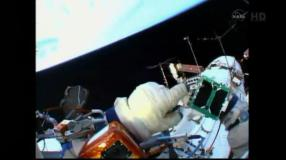 """[VIDEO] Lanzan nanosatélite peruano """"Chasqui I"""" y astronauta celebra con ironía"""