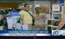 Cuba: Ingresar un televisor de 42 pulgadas costará US$ 500