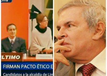 Pacto Ético: Luis Castañeda no firmó y Villarán pasó mal momento