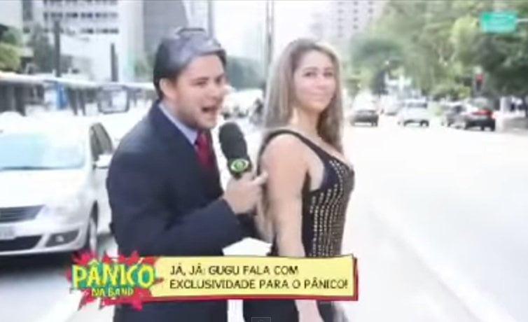 [VIDEO] Mira el truco de esta brasilera para espantar a acosadores del metro