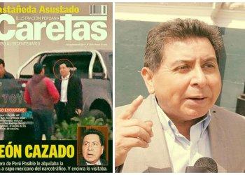 Congresista León sí se reunió con narco que arrendó su casa según revista