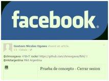 Facebook vulnerable: Supuesto perfil desconecta a usuario