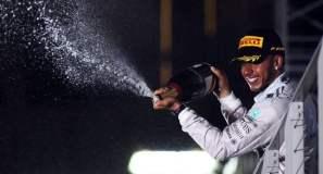 Hamilton se instaló en la punta de la clasificación general de pilotos en la Fórmula 1.
