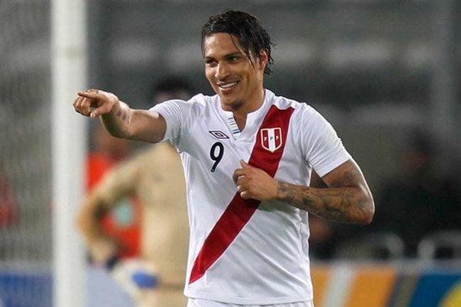 Paolo Guerrero volvió a marcar un gol con la camiseta de la selección y ya se ubica tercero en la tabla histórica de goleadores.