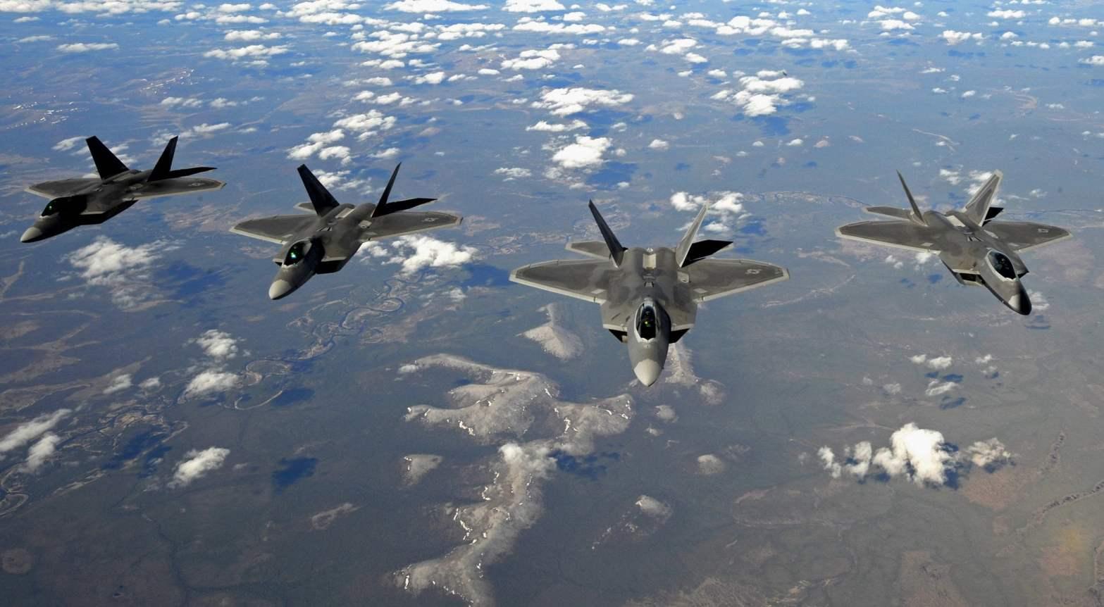 [VIDEO] Así opera el F-22 Raptor..el caza que bombardea en Siria