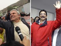 Castañeda 50.7%, Cornejo 17.6% y Villarán 10.5% según ONPE al 95.1%