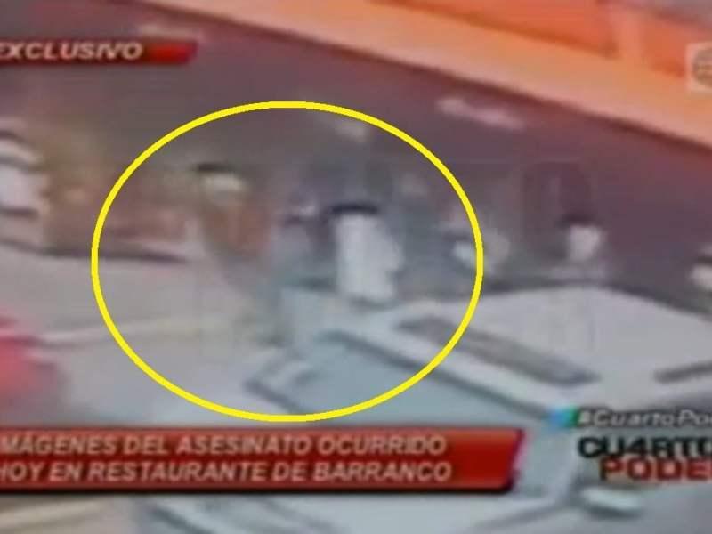 [VIDEO] impactante: Cámaras captan crimen de sicarios en Barranco