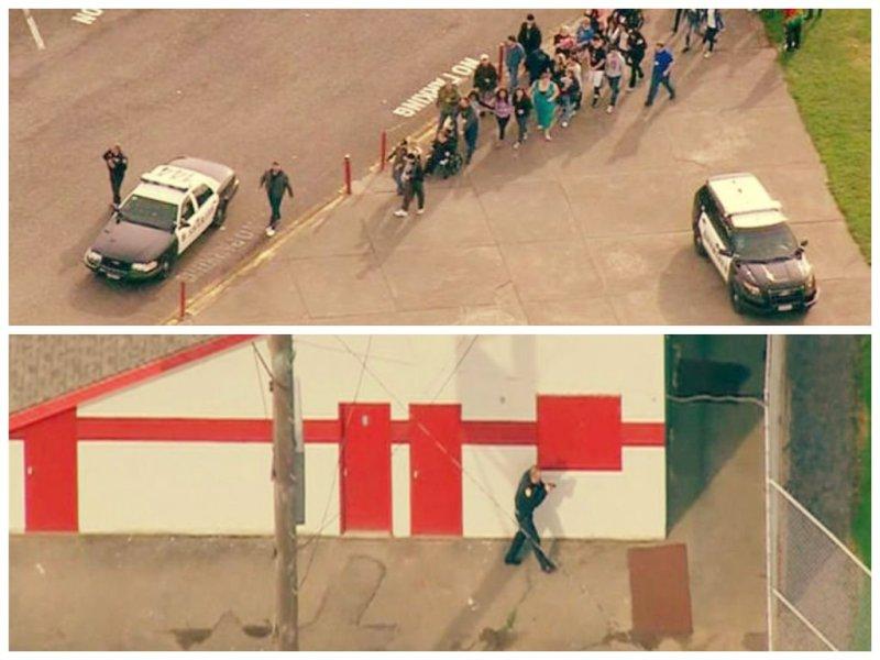 [VIDEO] De impacto: Estudiante mató a dos personas en escuela de EE.UU.
