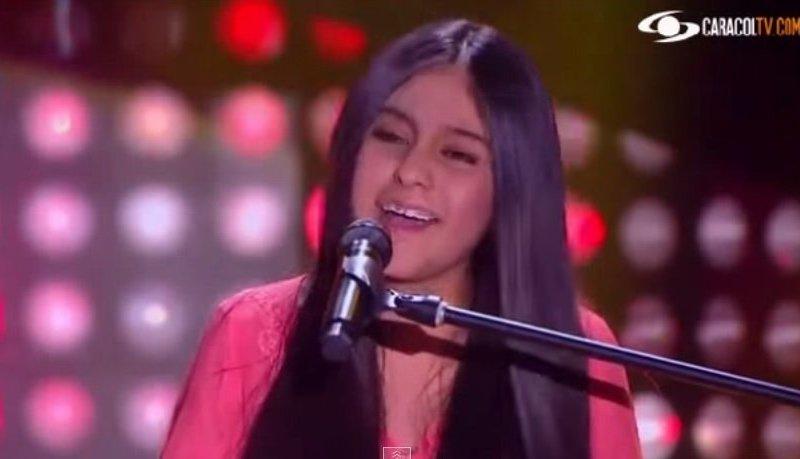 [VIDEO] Impactante: Cantó Flaca de Calamaro y conquista en 'La Voz Kids'
