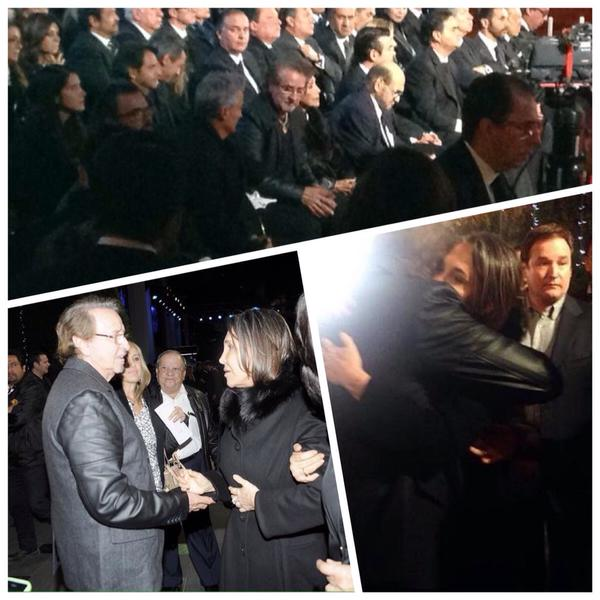 [FOTO] Se reconcilian 'Kiko' Carlos Villagran y Florinda Meza por Chespirito
