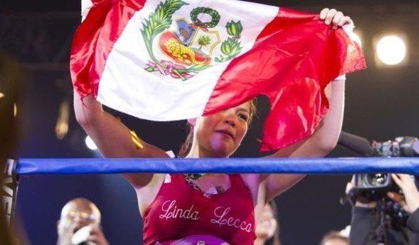 Linda del Perú. Lecca sigue siendo la reina de la categoría Supermosca.