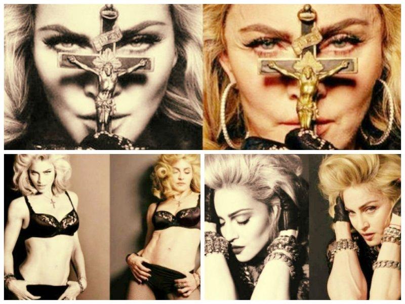 (Fotos Infobae) Madonna sin Photoshop, filtran imágenes de la 'Reina del Pop'
