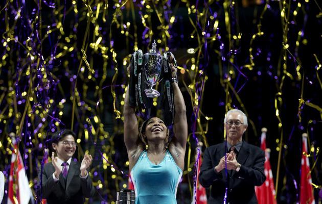 Serena Williams fue de lejos la mejor tenista durante el año 2014.