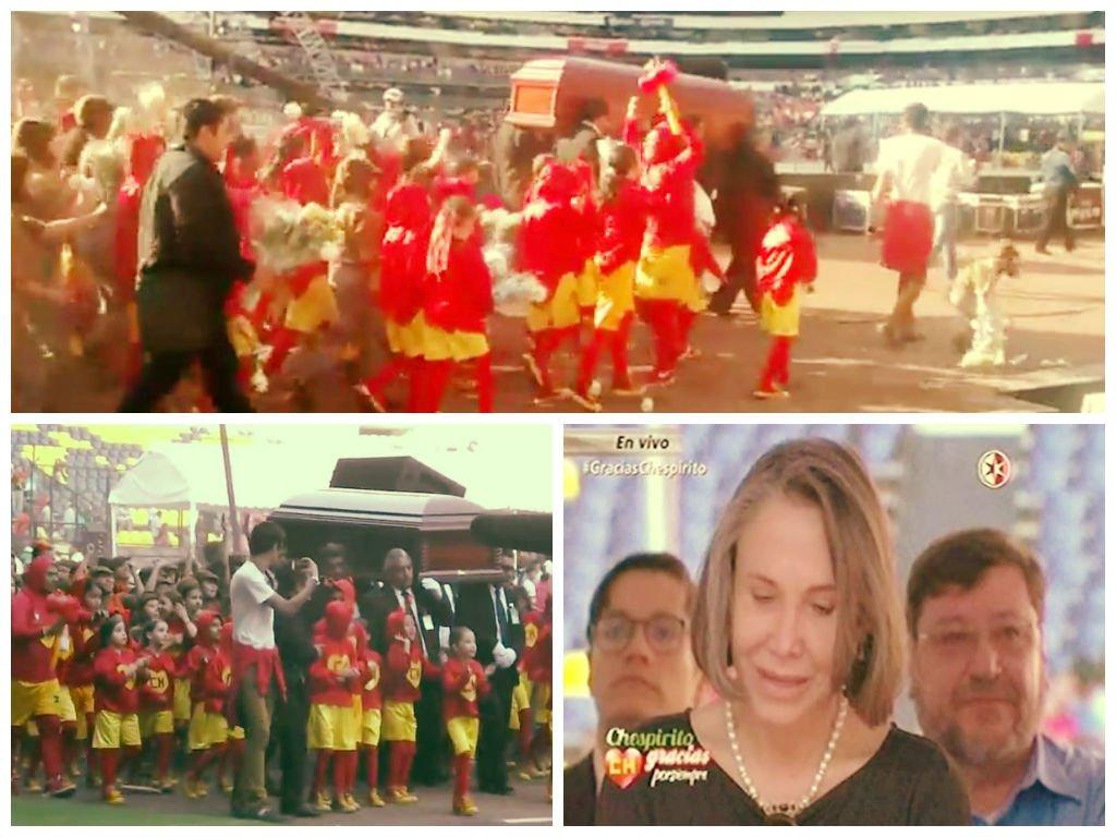 [VIDEOS] Chespirito: Así despidieron 40 mil almas a Roberto Gómez Bolaños