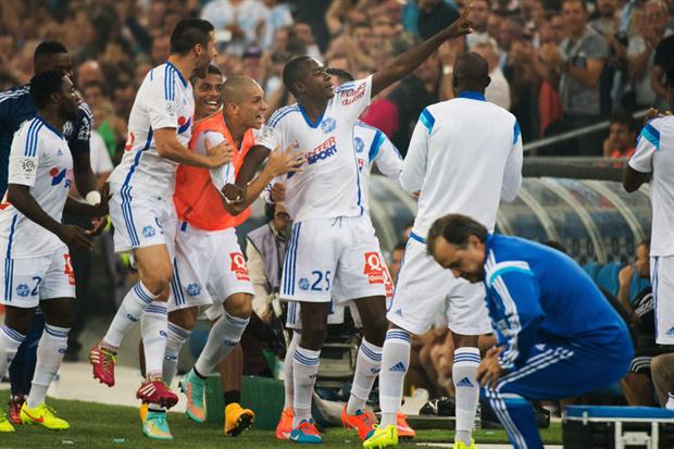 Olympique de  Marsella es el actual líder del campeonato francés.