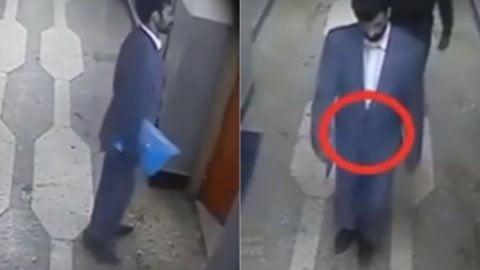 [VIDEO] Impactante: Graban a talibán suicida cuando se detona en comisaría