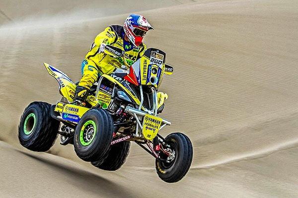 Ignacio Casale logró el liderato en la primera etapa del Dakar 2015.